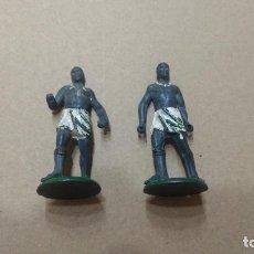 Figuras de Goma y PVC: GAMA EN GOMA LOTE 2 FIGURAS AFRICA SAFARI AÑOS 50- PINTURA ORIGINAL. Lote 276931278
