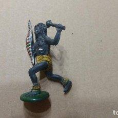 Figuras de Goma y PVC: GAMA FIGURA EN GOMA AFRICA SAFARI AÑOS 50- PINTURA ORIGINAL. Lote 276931693