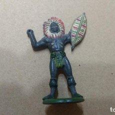 Figuras de Goma y PVC: GAMA FIGURA EN GOMA AFRICA SAFARI AÑOS 50- PINTURA ORIGINAL. Lote 276931878
