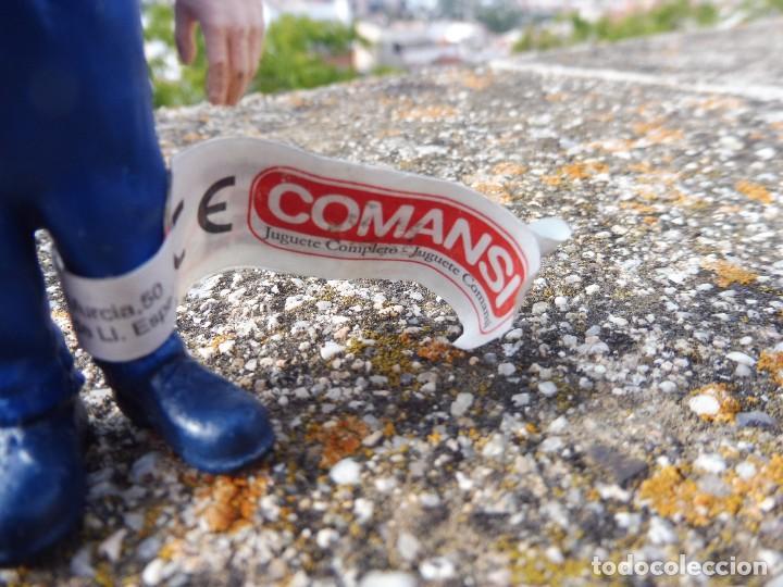 Figuras de Goma y PVC: Figura goma atrapa la bandera Frank Goldwing, Comansi 4 cats pictures con etiqueta - Foto 2 - 276951103