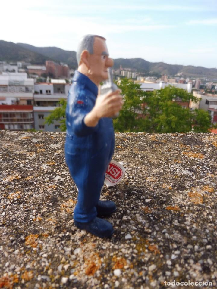 Figuras de Goma y PVC: Figura goma atrapa la bandera Frank Goldwing, Comansi 4 cats pictures con etiqueta - Foto 5 - 276951103