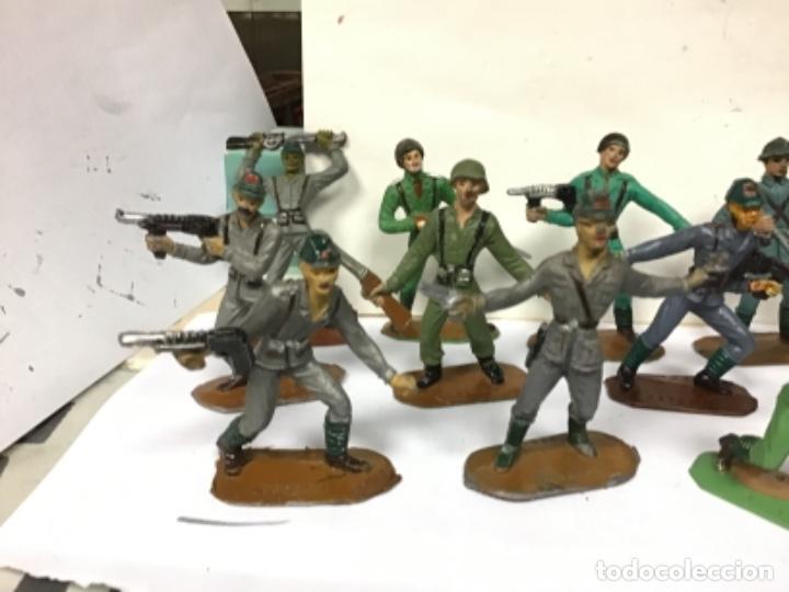 Figuras de Goma y PVC: LOTE MILITAR COMANSI SOLDADOS DEL MUNDO PRIMERA EPOCA CUBANO JAPONESES AMERICANO PECH REAMSA JECSAN - Foto 5 - 276978393
