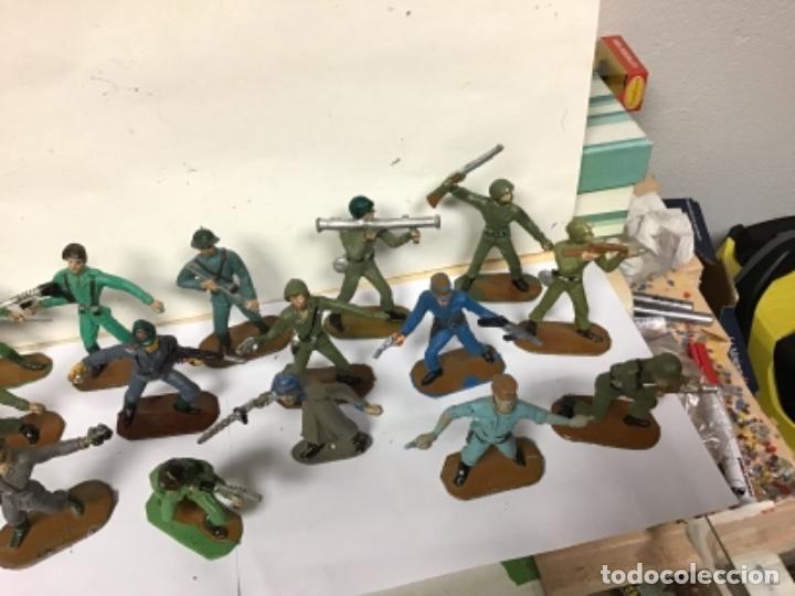 Figuras de Goma y PVC: LOTE MILITAR COMANSI SOLDADOS DEL MUNDO PRIMERA EPOCA CUBANO JAPONESES AMERICANO PECH REAMSA JECSAN - Foto 6 - 276978393