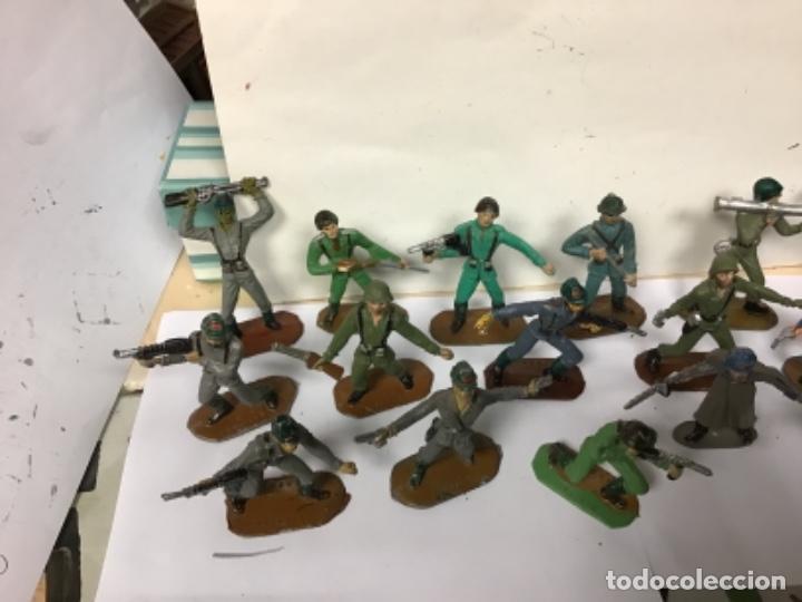 Figuras de Goma y PVC: LOTE MILITAR COMANSI SOLDADOS DEL MUNDO PRIMERA EPOCA CUBANO JAPONESES AMERICANO PECH REAMSA JECSAN - Foto 7 - 276978393