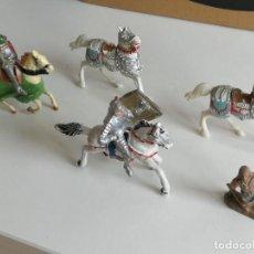 Figuras de Goma y PVC: COMANSI REAMSA JECSAN PECH CABALLEROS MEDIEVALES AÑOS 60. Lote 277017078