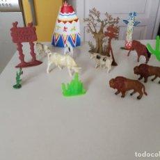Figuras de Goma y PVC: COMANSI REAMSA JECSAN PECH ANIMALES Y COMPLEMENTOS OESTE AÑOS 60- 70. Lote 277023633