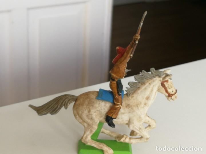 Figuras de Goma y PVC: Figura oeste mexicano de Britain Ltd año 1971 ( no Comansi Jecsan reamsa ) - Foto 3 - 277031793