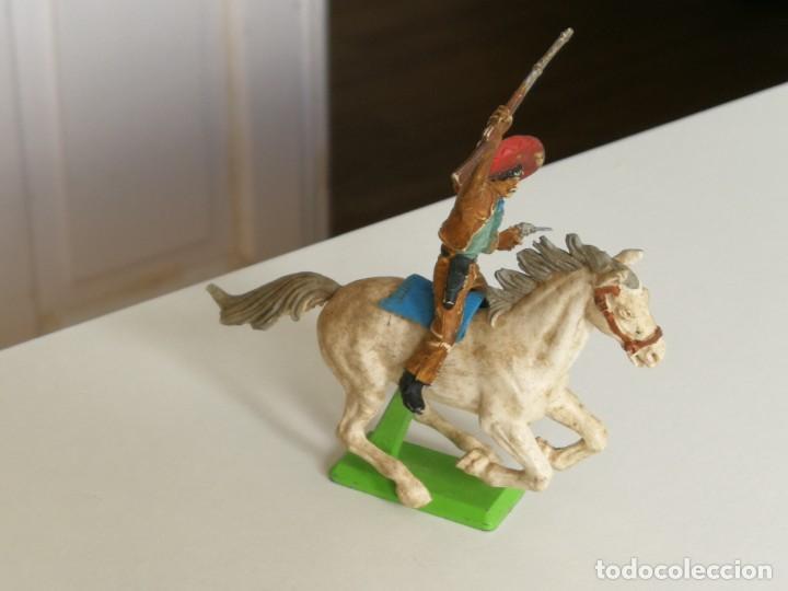 Figuras de Goma y PVC: Figura oeste mexicano de Britain Ltd año 1971 ( no Comansi Jecsan reamsa ) - Foto 4 - 277031793