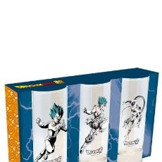 Figuras de Goma y PVC: JUEGO DE 3 VASOS - SUPER DRAGON BALL. Lote 277058253
