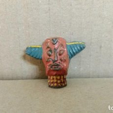 Figuras de Goma y PVC: MASCARA AFRICA SALVAJE DE ARCLA-REAMSA..ORIGINAL Y MUY DIFICIL AÑOS 50. Lote 277071293