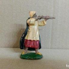 Figuras de Goma y PVC: ARABE BEDUINO . FIGURA REAMSA . SERIE LAWRENCE DE ARABIA . AÑOS 50 EN GOMA. Lote 277077838