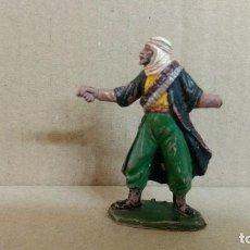 Figuras de Goma y PVC: ARABE BEDUINO . FIGURA REAMSA . SERIE LAWRENCE DE ARABIA . AÑOS 50 EN GOMA. Lote 277078108