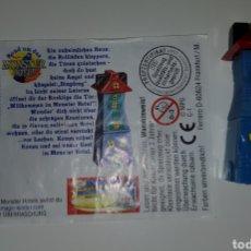 Figuras Kinder: FIGURA KINDER FERRERO ANTIGUA C-1 CASTILLO TERROR HALLOWEEN MONSTRUOS HOTEL MUÑECO COLECCIÓN PREMIUM. Lote 277084118