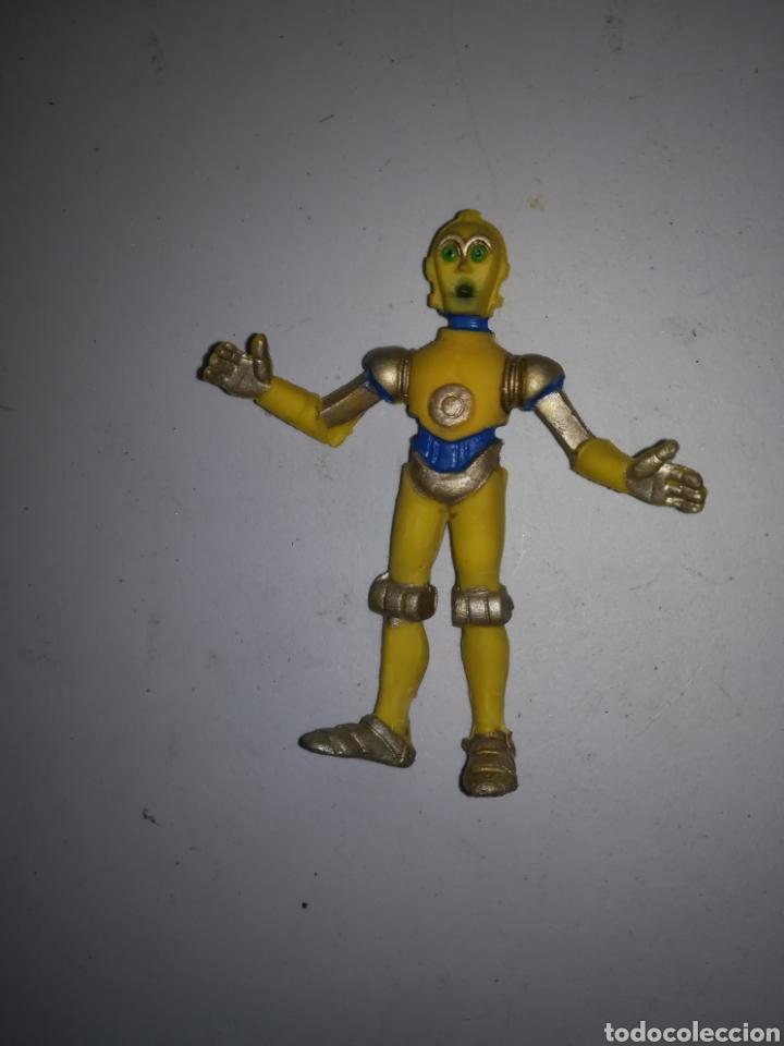 ROBOT 3CPO FIGURA DE PVC AÑOS 80 MADE IN SPAIN STAR WARS (Juguetes - Figuras de Goma y Pvc - Otras)