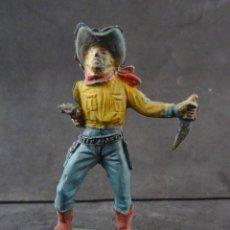 Figuras de Goma y PVC: PECH COWBOY GOMA. Lote 277102873