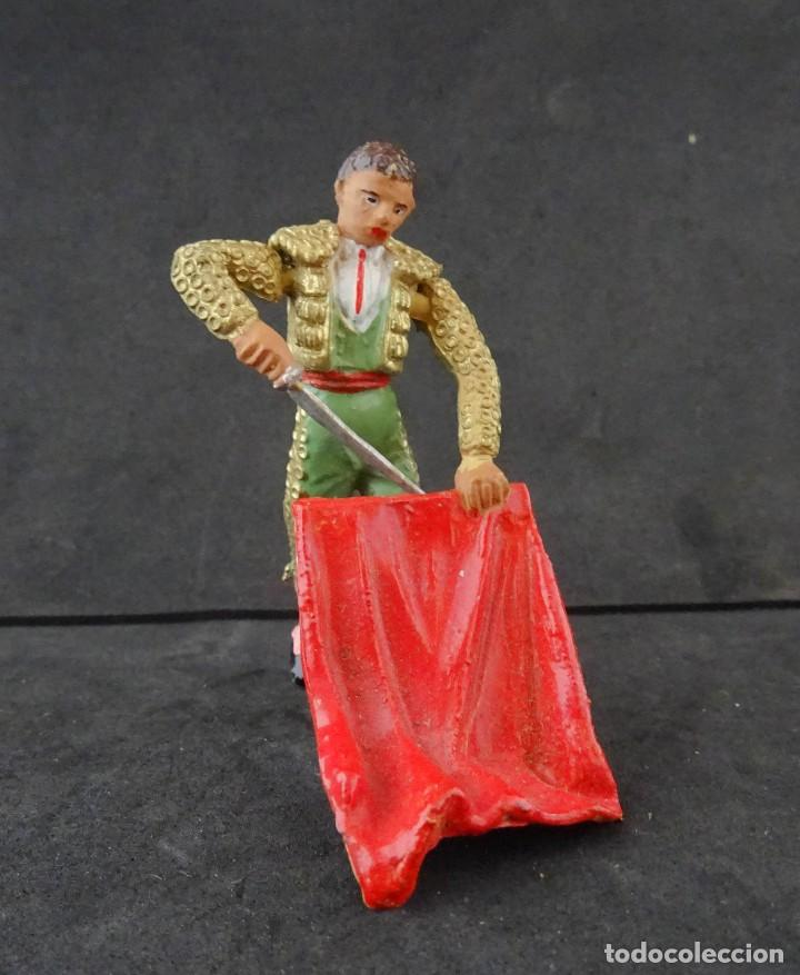 TEIXIDO TORERO FIGURA 2 (Juguetes - Figuras de Goma y Pvc - Teixido)