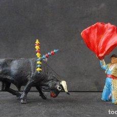 Figuras de Goma y PVC: TEIXIDO TORERO ESCENA. Lote 277102903