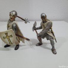 Figuras de Goma y PVC: SCHLEICH CABALLERO TEMPLARIO. Lote 277106448