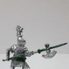 Figuras de Goma y PVC: GUERRERO MEDIEVAL . REALIZADO POR LAFREDO . ORIGINAL AÑOS 60 . SERIE PEQUEÑA. Lote 277135548