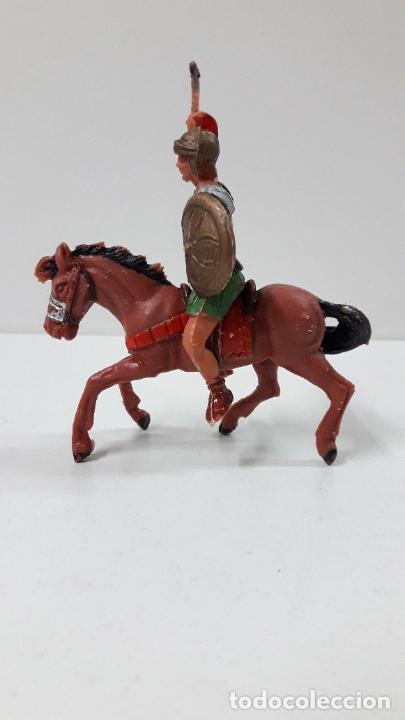 Figuras de Goma y PVC: LEGIONARIO ROMANO A CABALLO . REALIZADO POR JECSAN . ORIGINAL AÑOS 60 - Foto 8 - 277148278