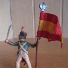 Figuras de Goma y PVC: FIGURA ANTIGUA REAMSA, SOLDADO NAPOLEONICO GUERRA INDEPENDENCIA , ( PECH , JECSAN , COMANSI ). Lote 277162623