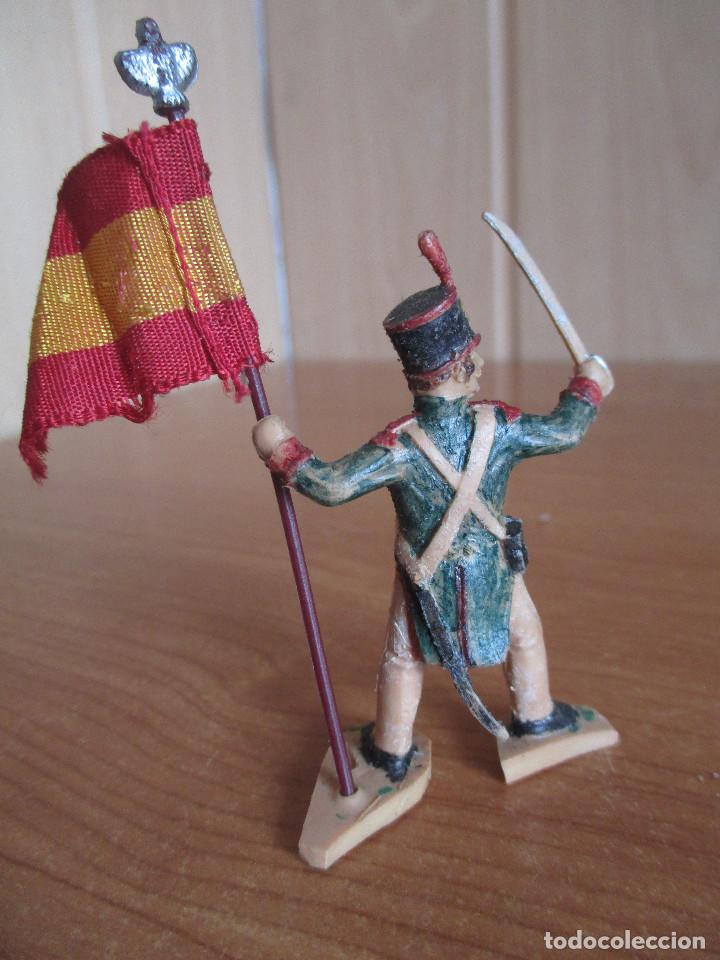 Figuras de Goma y PVC: FIGURA ANTIGUA REAMSA, SOLDADO NAPOLEONICO GUERRA INDEPENDENCIA , ( PECH , JECSAN , COMANSI ) - Foto 3 - 277162623