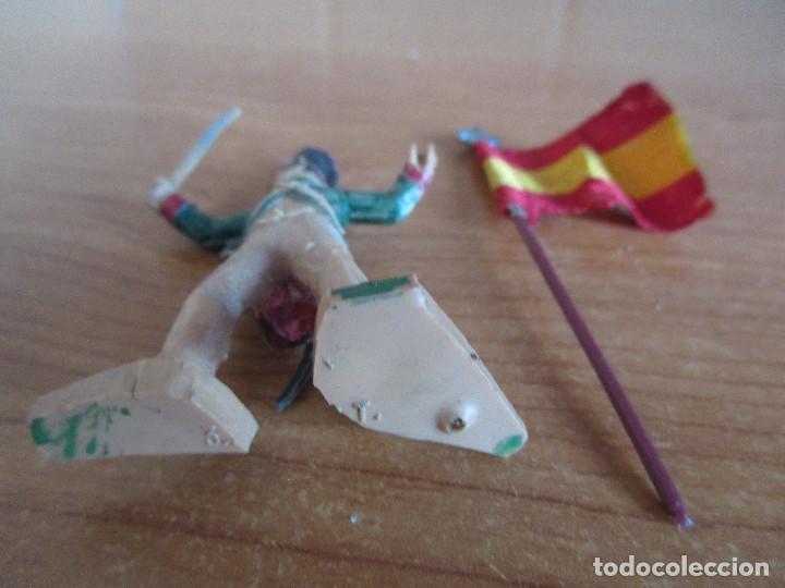 Figuras de Goma y PVC: FIGURA ANTIGUA REAMSA, SOLDADO NAPOLEONICO GUERRA INDEPENDENCIA , ( PECH , JECSAN , COMANSI ) - Foto 5 - 277162623