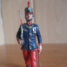 Figuras de Goma y PVC: FIGURA ANTIGUA SOLDADO GUARDIA REAL DESFILANDO ( PECH , JECSAN , REAMSA , COMANSI , ETC). Lote 277163648
