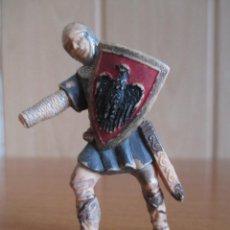 Figuras de Goma y PVC: FIGURA ANTIGUA SOLDADO MEDIEVAL ( PECH , JECSAN , REAMSA , OLIVER , COMANSI , ETC). Lote 277164158