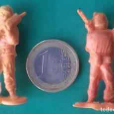 Figuras de Goma y PVC: FIGURAS Y SOLDADITOS DE DIFERENTES CTMS -14561. Lote 277265758