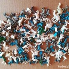 Figurines en Caoutchouc et PVC: LOTE SOLDADITOS DE PLÁSTICO MONTAPLEX SERIE BEDUINOS Y OTROS. Lote 277418578
