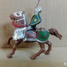 Figuras de Goma y PVC: MEDIEVAL A CABALLO TORNEO REAL , REAMSA ,ORIGINAL AÑOS 50-60-PINTURA ORIGINAL. Lote 277514403