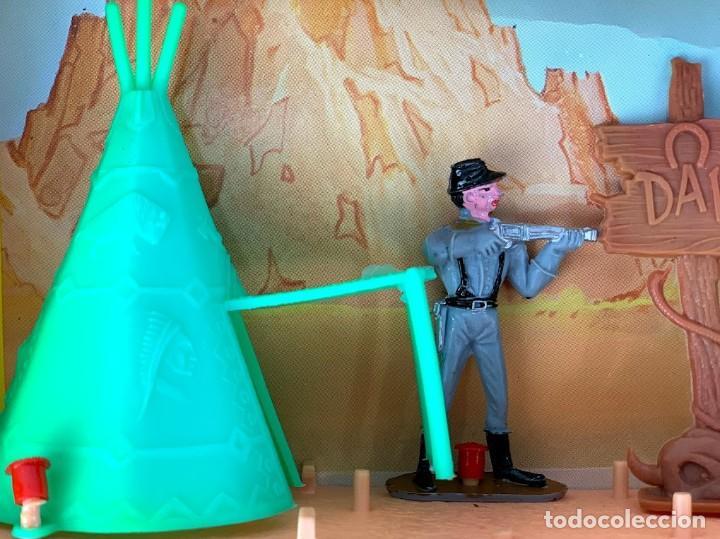 Figuras de Goma y PVC: Caja Kansas Far-West de Comansi - Foto 3 - 277515993