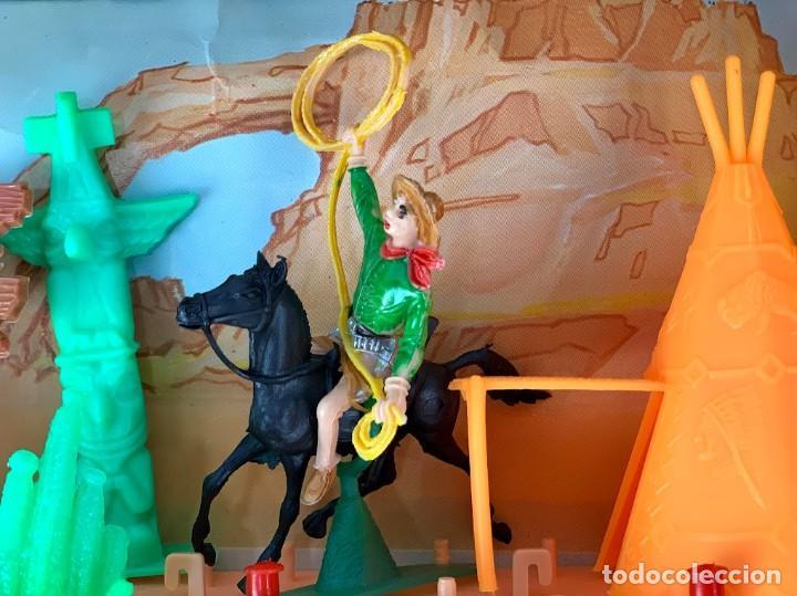 Figuras de Goma y PVC: Caja Kansas Far-West de Comansi - Foto 4 - 277515993