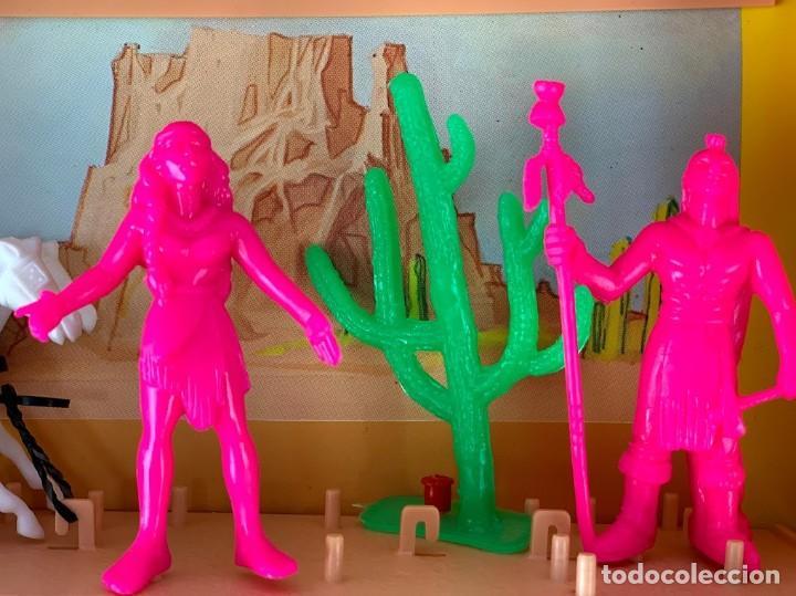 Figuras de Goma y PVC: Caja Kansas Far-West de Comansi - Foto 5 - 277515993