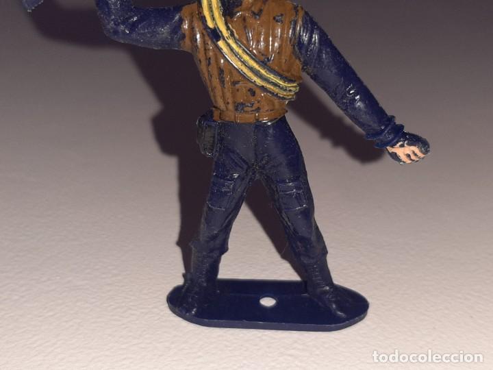 Figuras de Goma y PVC: COMANSI : ANTIGUA FIGURA DE PLASTICO LOS HOMBRES DE HARRELSON - SWAT - AÑOS 70 - Foto 3 - 277520148