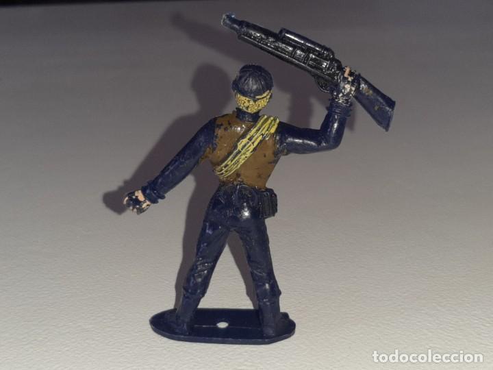 Figuras de Goma y PVC: COMANSI : ANTIGUA FIGURA DE PLASTICO LOS HOMBRES DE HARRELSON - SWAT - AÑOS 70 - Foto 5 - 277520148