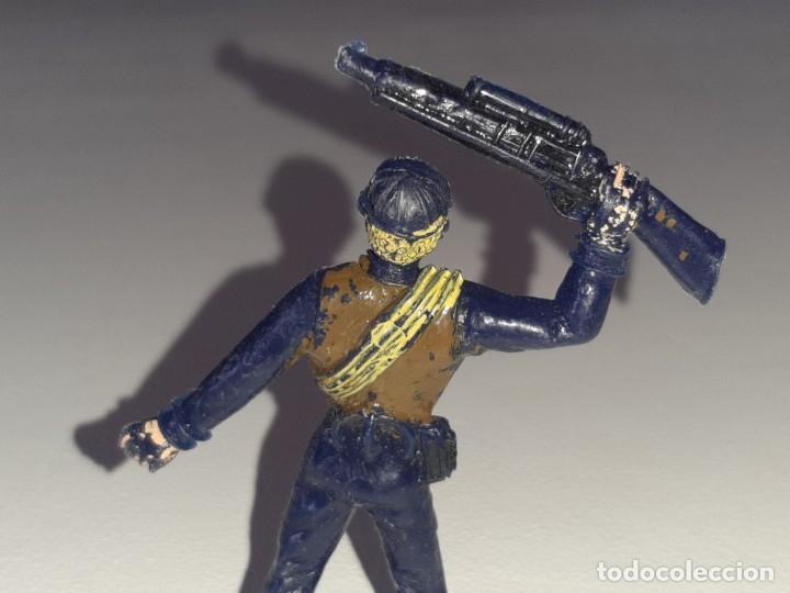 Figuras de Goma y PVC: COMANSI : ANTIGUA FIGURA DE PLASTICO LOS HOMBRES DE HARRELSON - SWAT - AÑOS 70 - Foto 6 - 277520148