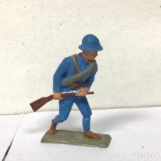 Figuras de Goma y PVC: FIGURA MILITAR SOLDADO FRANCES STARLUX PRIMERA GUERRA MUNDIAL NO PECH JECSAN COMANSI REAMSA MUNDO. Lote 277527233
