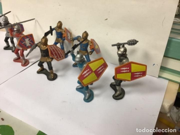 Figuras de Goma y PVC: LOTE FIGURAS MEDIEVALES MEDIEVAL CORTE FEUDAL NO PECH REAMSA JECSAN COMANSI LAFREDO - Foto 2 - 277544313