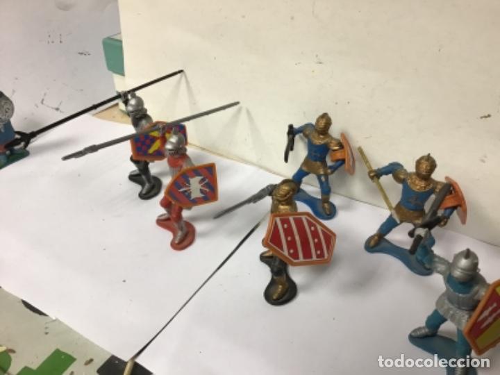 Figuras de Goma y PVC: LOTE FIGURAS MEDIEVALES MEDIEVAL CORTE FEUDAL NO PECH REAMSA JECSAN COMANSI LAFREDO - Foto 3 - 277544313