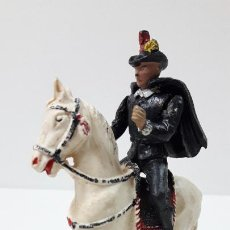 Figuras de Goma y PVC: ALGUACILILLO A CABALLO . REALIZADO POR TEIXIDO . SERIE CORRIDA DE TOROS . ORIGINAL AÑOS 50 / 60. Lote 277552798
