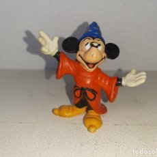 Figuras de Goma y PVC: COMICS SPAIN : ANTIGUA FIGURA DE GOMA - MICKEY MOUSE - MAGO FANTASIA - WALT DISNEY AÑOS 80. Lote 277563918