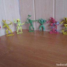 Figuras de Goma y PVC: LOTE 7 FIGURAS ANTIGUAS INDIOS Y VAQUERO OESTE ( LAFREDO ,PECH , JECSAN , REAMSA , COMANSI , ETC). Lote 277600578
