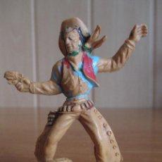 Figuras de Goma y PVC: FIGURA ANTIGUA VAQUERO OESTE 7 CM ( PECH , JECSAN , REAMSA , LAFREDO , OLIVER , COMANSI , ETC). Lote 277602098