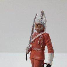 Figuras de Goma y PVC: SOLDADO DE DRAGONES EN DESFILE . REALIZADO POR NOVOPLAST . ORIGINAL AÑOS 50 EN GOMA. Lote 277617053