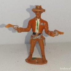 Figuras de Goma y PVC: COMANSI : ANTIGUA FIGURA DE PLASTICO SHERIFF 2ª EPOCA AÑOS 70. Lote 277623243