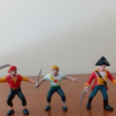 Figuras de Goma y PVC: FIGURAS PIRATAS EN GOMA. Lote 277625233