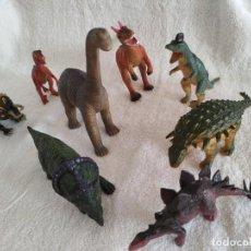 Figuras de Goma y PVC: LOTE 8 FIGURAS DINOSAURIOS GOMA/PVC. Lote 277626593