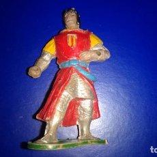 Figuras de Goma y PVC: ESTEREOPLAST CAPITAN TRUENO DE LA CASA JIN DE GOMA ORIGINAL AÑOS 50 BUEN ESTADO. Lote 277647588